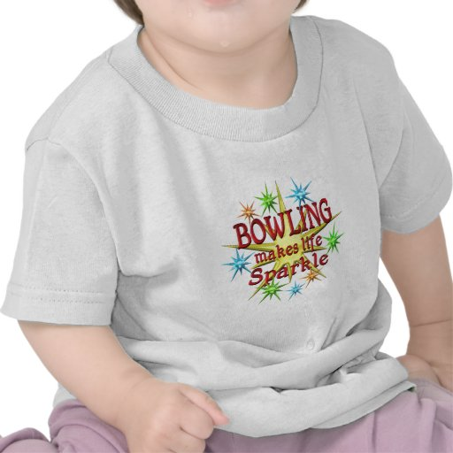 Bowling Sparkles T-shirts