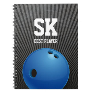 Bowling | Sport Gifts Spiral Notebook