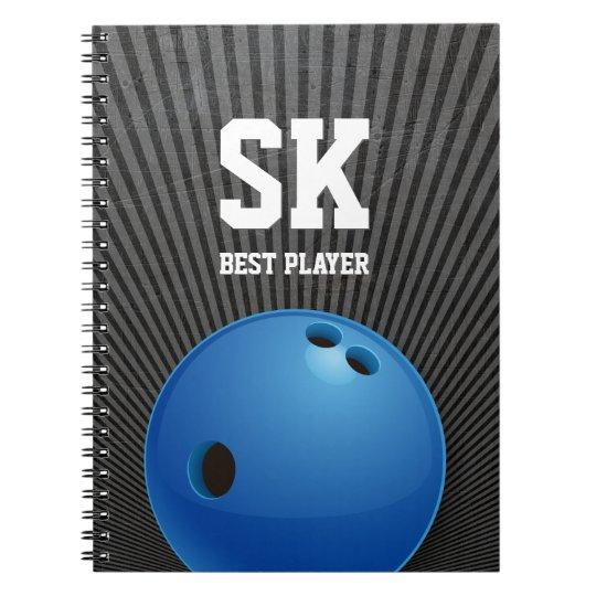 Bowling | Sport Gifts Spiral Notebook