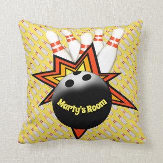 Bowling Square Pillow