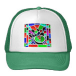 BOWLING STAINED GLASS HATS