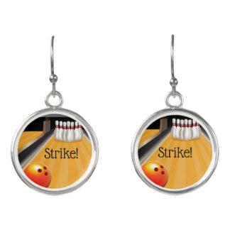 Bowling Strike! Earrings