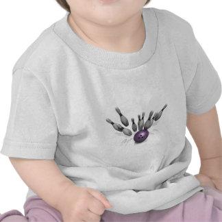Bowling Strike - Pins T Shirts