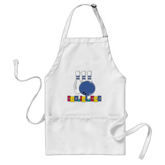 Bowling T-shirts and Gifts. Standard Apron