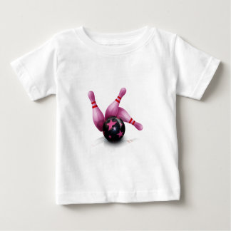 Bowling Team - Ball And Pins. Infant T-Shirt