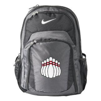 Bowling Ten Pins Backpack