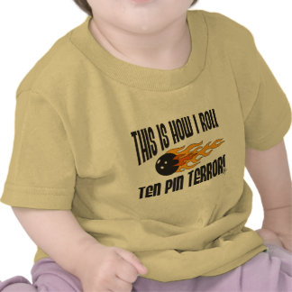 Bowling This Is How I Roll Tshirt