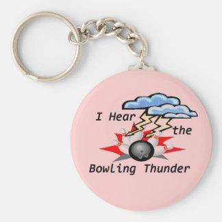 Bowling Thunder Key Ring