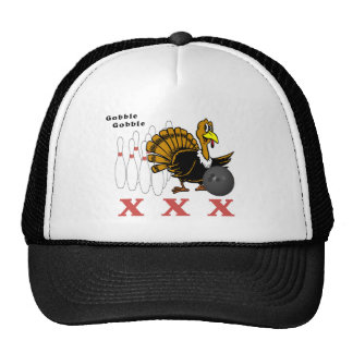 Bowling Turkey XXX Mesh Hats