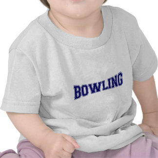 Bowling University Style Tees