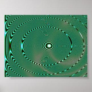 Bowls of Liquid Poster