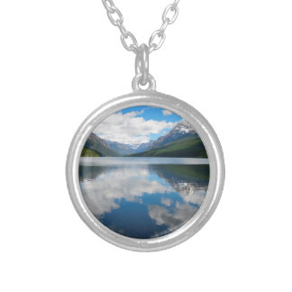 Bowman Lake Silver Plated Necklace