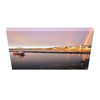 Bowmore Harbour Canvas Canvas Print