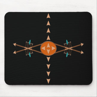 Bows and Arrows Mousepad