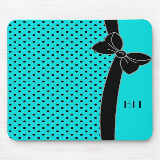 BOWS AND DOTS #07 on 131 Mousepads