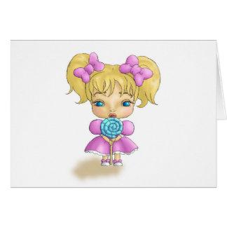 Bows & Lollipops Card