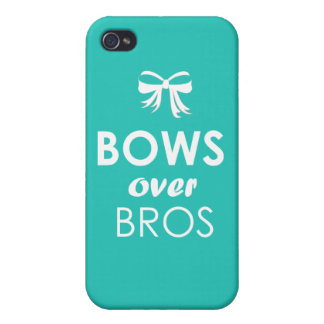 Bows over Bros iPhone case Case For The iPhone 4