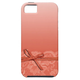 Bows Ribbon & Lace | peach iPhone 5 Covers
