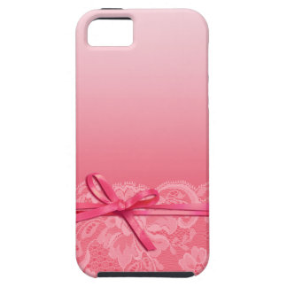 Bows Ribbon & Lace | pink iPhone 5 Covers