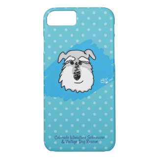Bowser - Polkadot Schnauzer Cell Phone Case