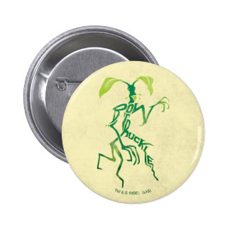Bowtruckle Typography Graphic 6 Cm Round Badge
