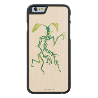 Bowtruckle Typography Graphic Carved Maple iPhone 6 Case