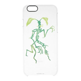 Bowtruckle Typography Graphic Clear iPhone 6/6S Case