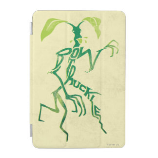 Bowtruckle Typography Graphic iPad Mini Cover