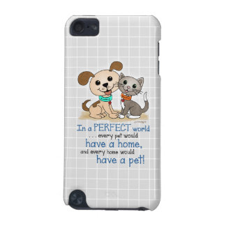BowWow and MeeYow (Pet Adoption-Humane Treatment) iPod Touch 5G Cover