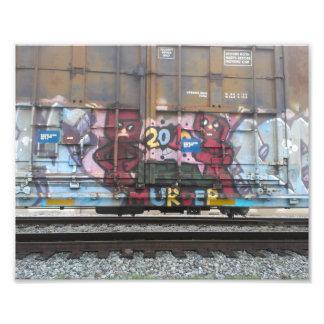 Box Car Graffiti Photo Print New Orleans