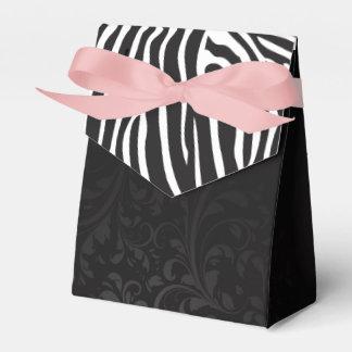 Box Details Elegant for Gift Zebra & Ornament Party Favor Boxes