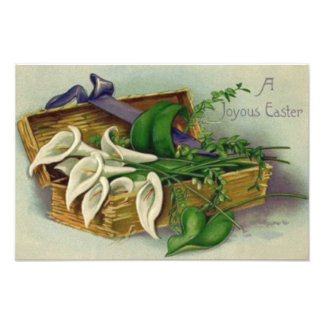 Box Easter Lily Art Photo