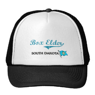 Box Elder South Dakota City Classic Hat