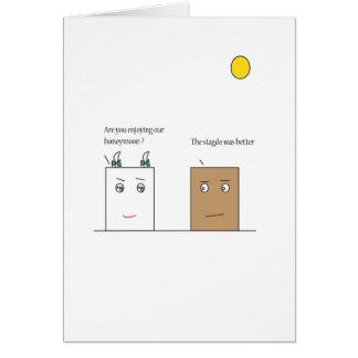 Box : honeymoon note card