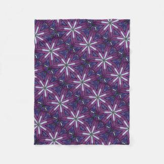 Box Kite Kaleidoscope Fleece Blanket