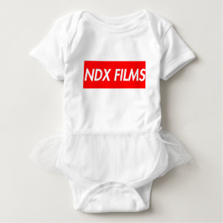 box logo baby bodysuit