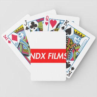 box logo bicycle playing cards