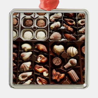 Box of Candy Metal Ornament