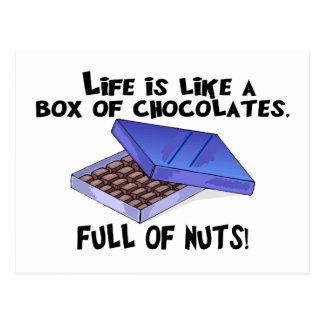 Box Of Chocolates Postcard