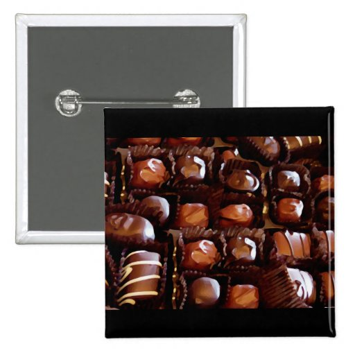 Box of Chocolates, Tempting Chocolate Candy Pin