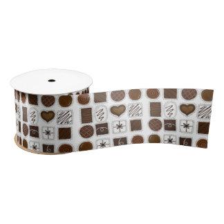 Box of Chocolates Valentine's Day Candy Bon Bons Satin Ribbon