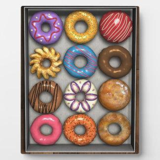 Box of Doughnuts Photo Plaques