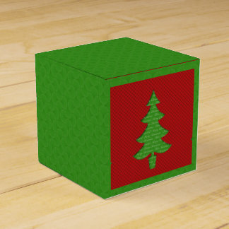 Box of Gift - Tree of Christmas Favour Boxes