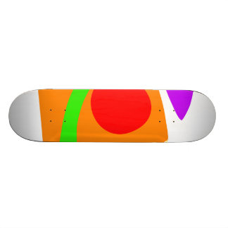 Box of Happiness Custom Skateboard