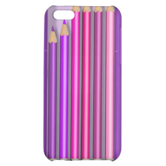 Box of pencils design cover for iPhone 5C