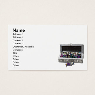 Box of Worry Dolls Business Card