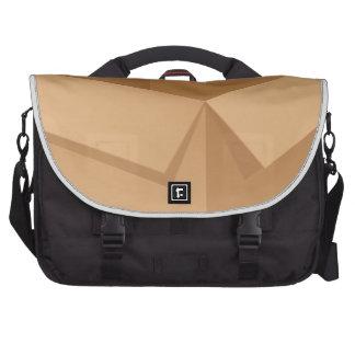 Box on white laptop shoulder bag