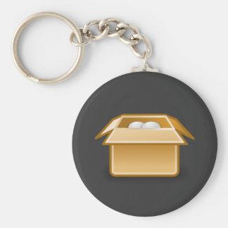 Box Packing Shipping Key Ring