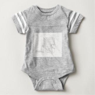 box turtle cube drawing Eliana Baby Bodysuit