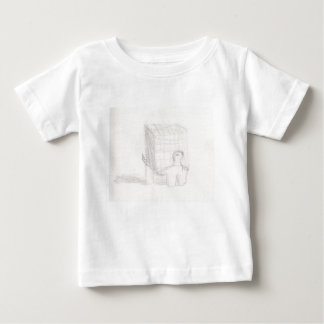 box turtle cube drawing Eliana Baby T-Shirt